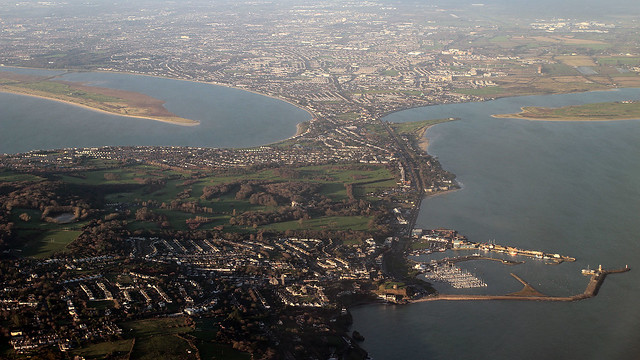 Dublin from the air