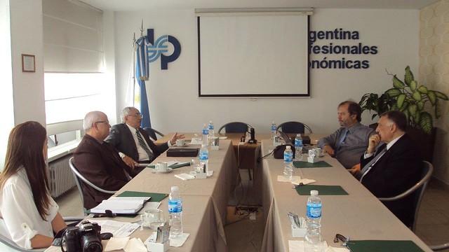 El presidente del GLENIF se reunió con el presidente del CFC en Buenos Aires