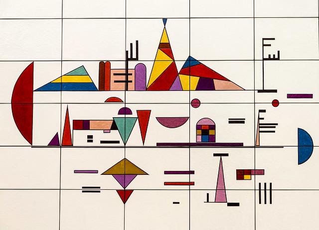 Wassily Kandinsky: Salon de musique (1931)