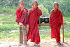 Young novice monks in Bagan