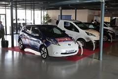 automobile, automotive exterior, vehicle, nissan leaf, automotive design, auto show, electric car, city car, nissan, bumper, land vehicle,