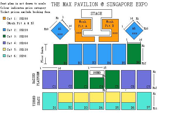 apink pink concert in singapore seating plan sgxclusive