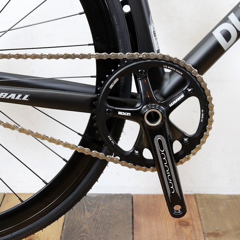 DURCUS ONE / GUM BALL SRAM / OMNIUM TRACK CRANK LIMITED VERSION