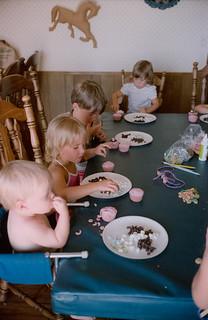 Mom's 70th - 1986