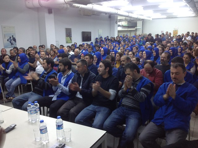 ETF union workers meeting