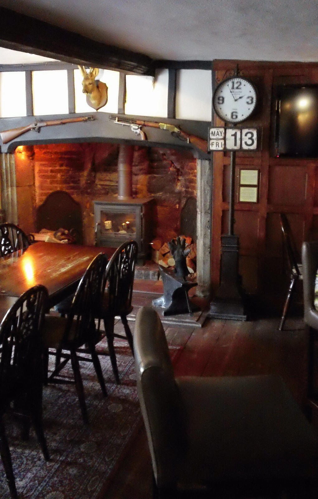 Pub interior, The Bull Linton Kent