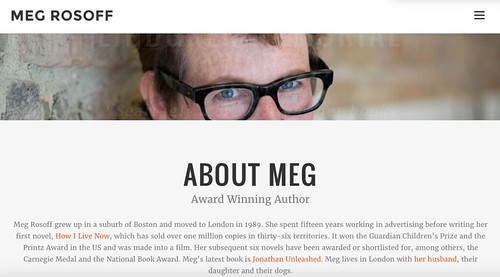 Meg Rosoff website