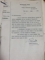 MEPO 3/374 - ALFRED SOLOMON charged with the wilful murder of BARNET BLITZ (Image 5)