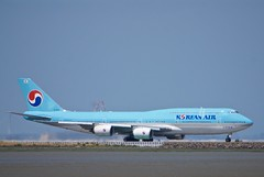 Korean Air Lines Boeing 747-800, HL7630, stretched jumbo jet DSC_0726