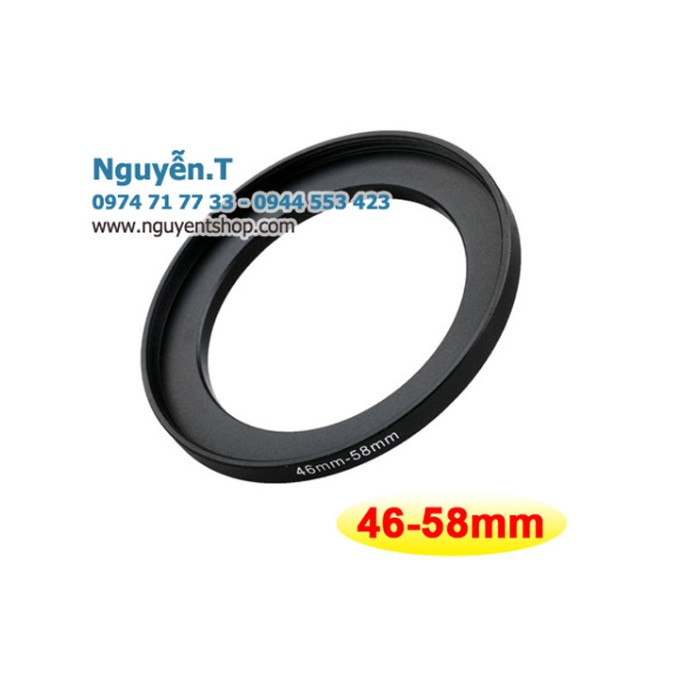 Step up ring 46-58mm