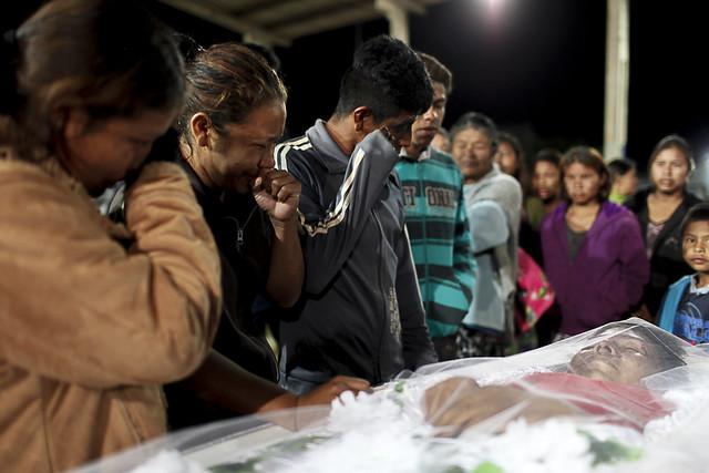 Clodiodi Aquileu, morto em 14 de junho, foi mais uma vítima do genocídio no Mato Grosso do Sul - Créditos: Cimi