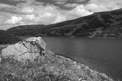 Overlooking the Waters of Loch Callater