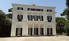 Palazzina Borbonica at Villa Rosebery in Naples (after 1820) - Architects Stefano and Luigi Gasse
