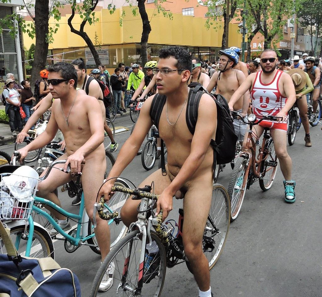 Mexico City - World Naked Bike Ride 2016 - A Photo On -6843