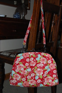 My Spring Handbag in Ruby
