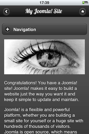 Mobile_Joomla_screenshot2