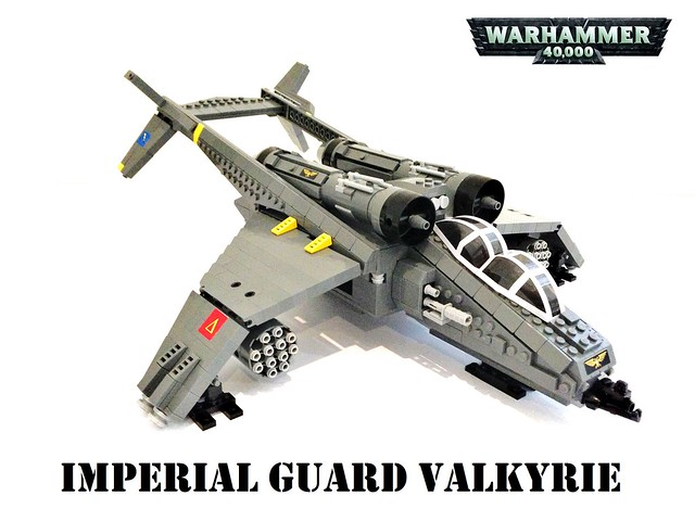 Warhammer 40K Imperial Guard Valkyrie