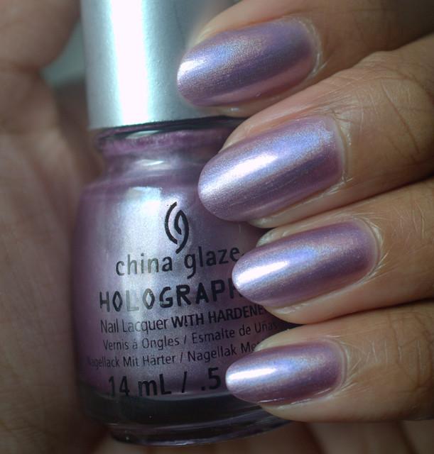China Glaze Get Outta My Space nail polish