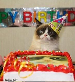 grumpy cat birthday two