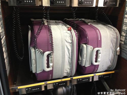 行李上鎖櫃