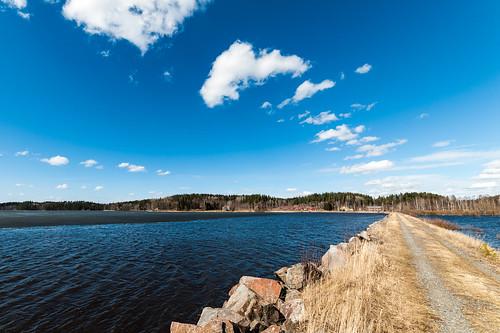 lake ice suomi finland spring april hyvinkää jää kevät kytäjä huhtikuu 2013 kytäjärvi