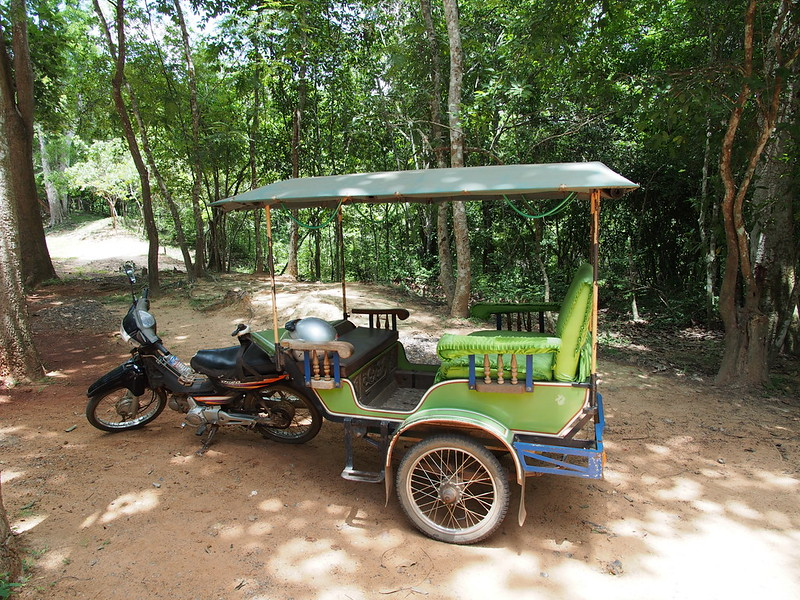 Tuk Tuk for Angkor Ruin Tour
