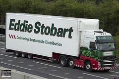 Volvo FH 6x2 Tractor - PX11 BYT - Hilary Janet - Eddie Stobart - M1 J10 Luton - Steven Gray - IMG_0025