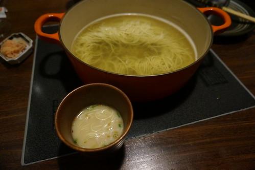 締めの中華麺