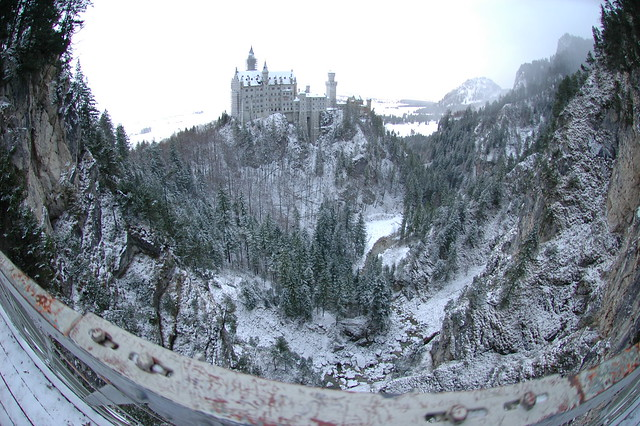 Neuschwanstein Castle and Marienbrücke