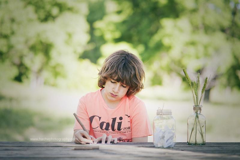 Escribiendo deseos