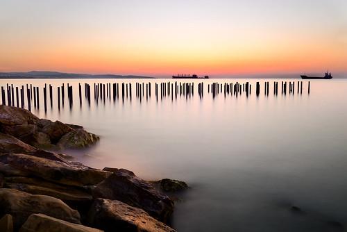 longexposure light seascape sunrise landscape dawn seaside nikon day cyprus charles calm le calmness limassol firstlight nikon247028 polesinwater charlescharalambous copyrightcharlescharalambousallrightsreserved pwpartlycloudy calmseeatdawn calmseaatdawn