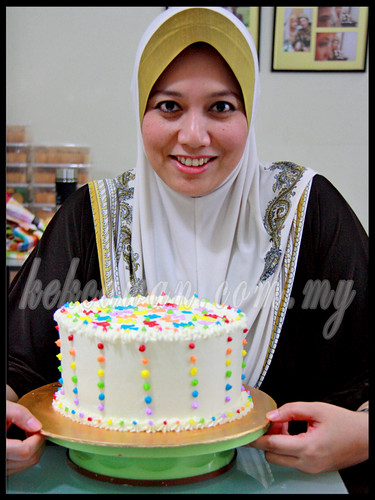 Personal Class Bake & Deco: Rainbow Cake ~ 3 October 2012