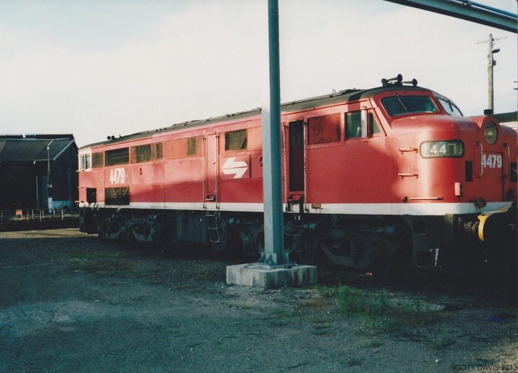 Broadmeadow loco 90_ 23 by Scott D