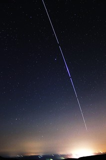 ISS flaring close to Arcturus