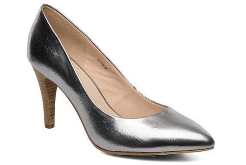 Esprit Diana silver heels