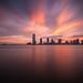 Fiery Sunset by Tim Drivas