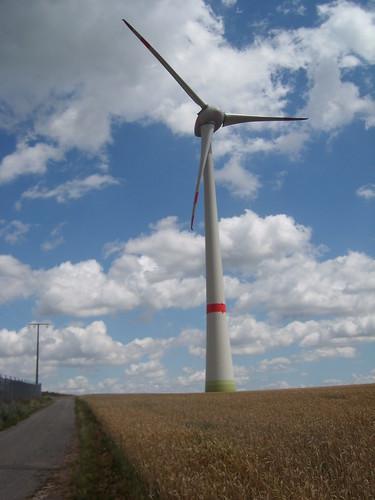 Enercon 7,5 MW auf dem Schneeberger Hof