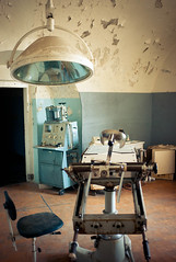 Operating table in Patarei prison