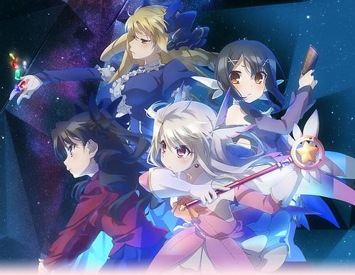 130719(2) - 電視動畫《Fate/kaleid liner プリズマ☆イリヤ》(魔法少女☆伊莉雅)只有10集,藍光OVA第11話將在2014/1/25推出!