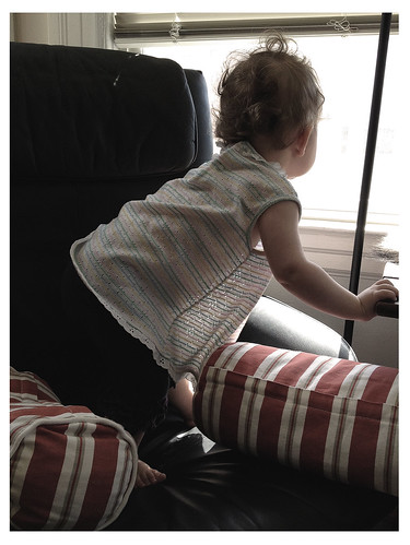 Firsts: Climbing Into The Office Chair and Looking Out the Window