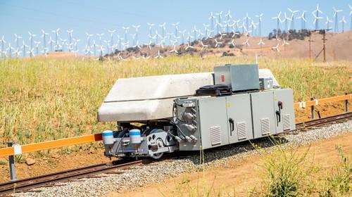 ARES – система хранения энергии на базе электровоза