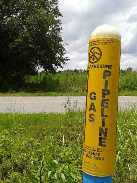 High Pressure Gas Pipeline
