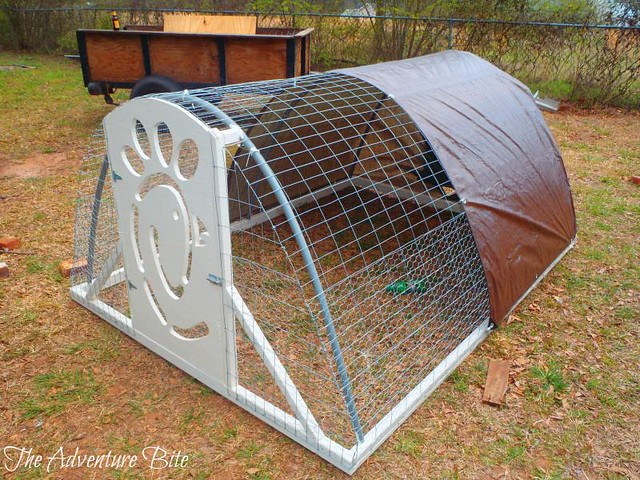 How to build a chicken tractor fresh eggs daily for Cheap chicken tractor