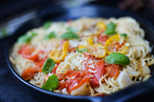 pasta w grilled vegetables-4