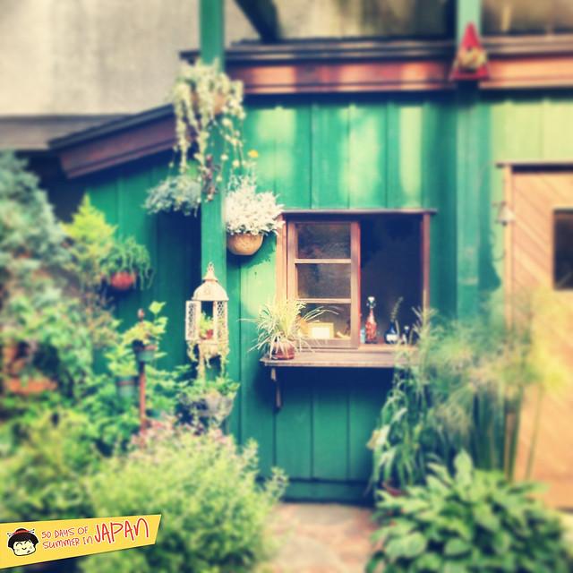 Ghibli Museum Mitaka, Japan - storybook garden