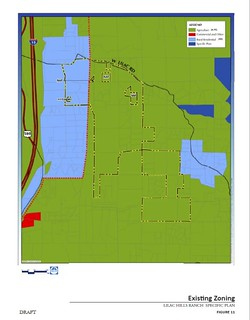 current zoning is agricultural (via draft Lilac Hills Ranch specific plan)