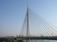 Ada bridge,Belgrade