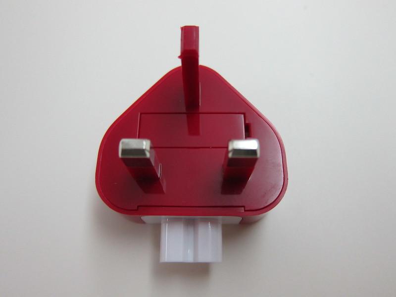 Twelve South PlugBug World - UK/Hong Kong/Singapore Adapter