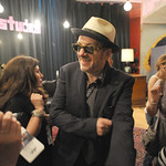 Elvis Costello and ?uestlove with Don Was