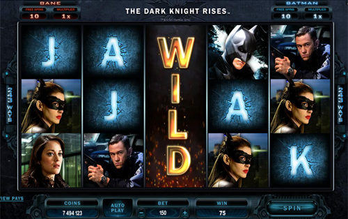free The Dark Knight Rises Expanding Wild